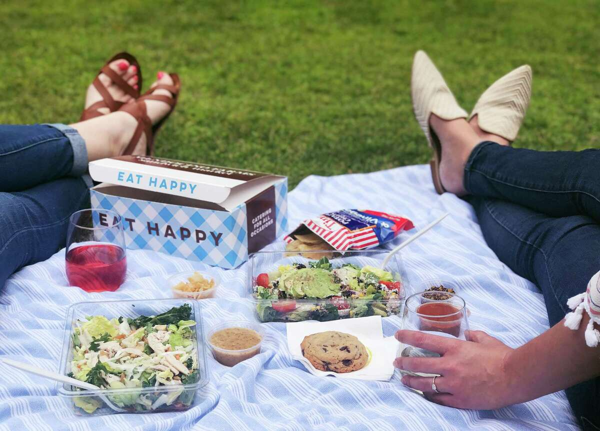 The catering boxes at Mendocino Farms 5510 Morningside Dr. make for a perfect picnic.