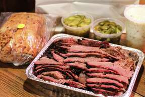 Goode Co. Barbecue5109 Kirby Dr. and8911 Katy Frwy.713.522.2530 and713.464.1901The family packs at Goode Co. Barbecue, available in four sizes ($55 to $215), include proteins, sides and jalapeno cheese bread.