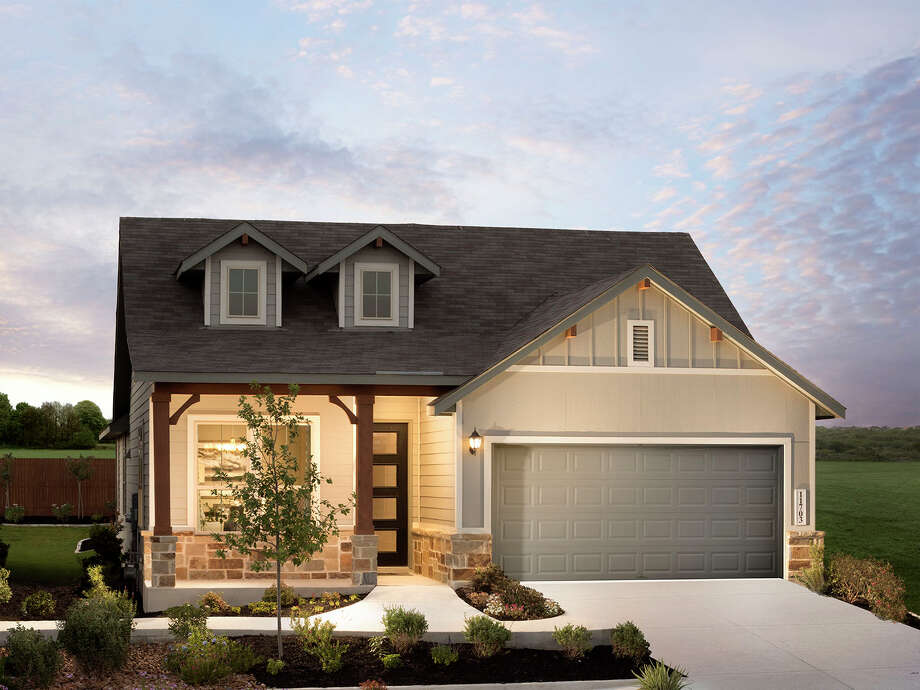 2020 Spring Tour of Homes Meritage Homes at Harlach Farms11703 Folsom Pass, San Antonio, TX 78245Starting in the low $200s Photo: Meritage Homes