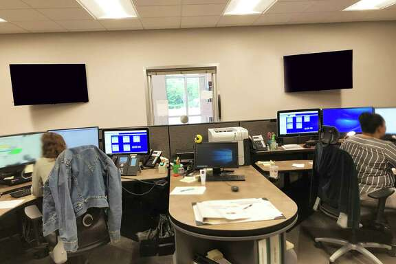A look inside the city of Dayton Dispatch Center. Telecommunicators are being celebrated this week for their heroic work every day answering the calls of the public and law enforcement.