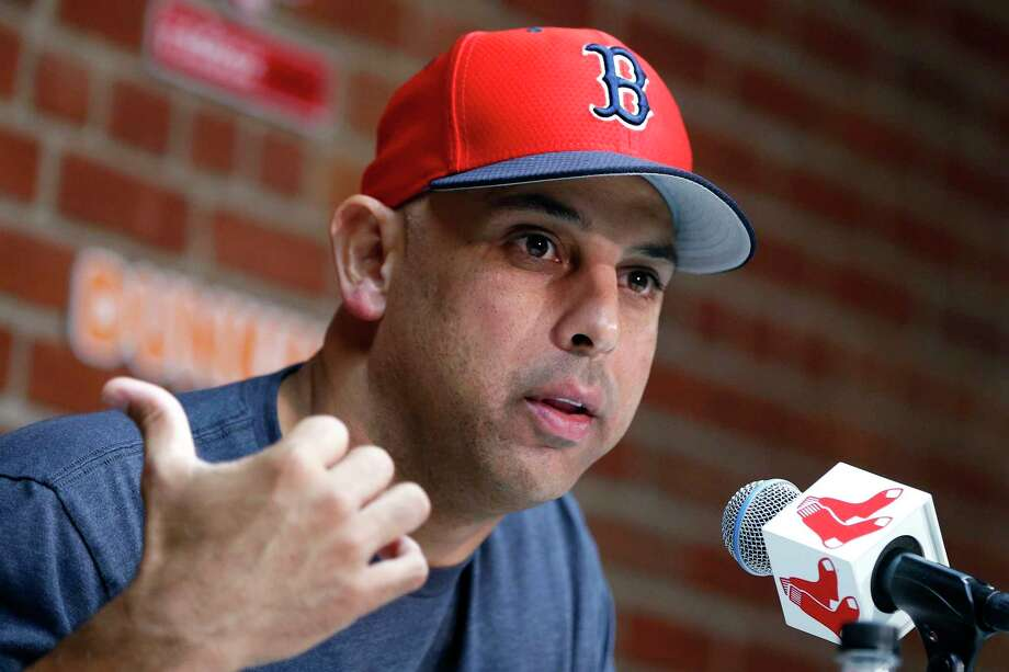PHOTOS: What former Astros players have said about stealing signs Former Red Sox manager Alex Cora was suspended for a year for his role in the Astros' 2017 sign-stealing scheme. He also was fired by the Boston Red Sox. Photo: Michael Dwyer, AP / Copyright 2019 The Associated Press. All rights reserved