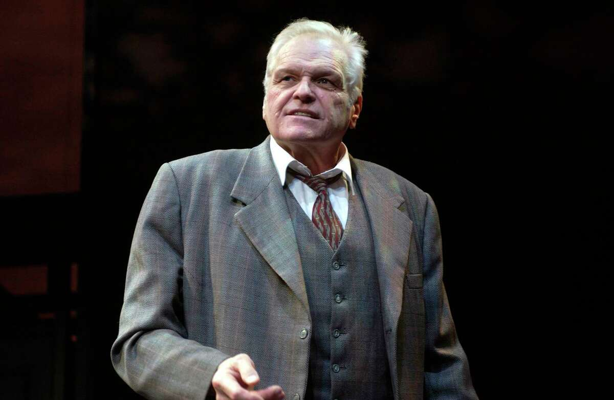 Brian Dennehy (as Willy Loman) in the production