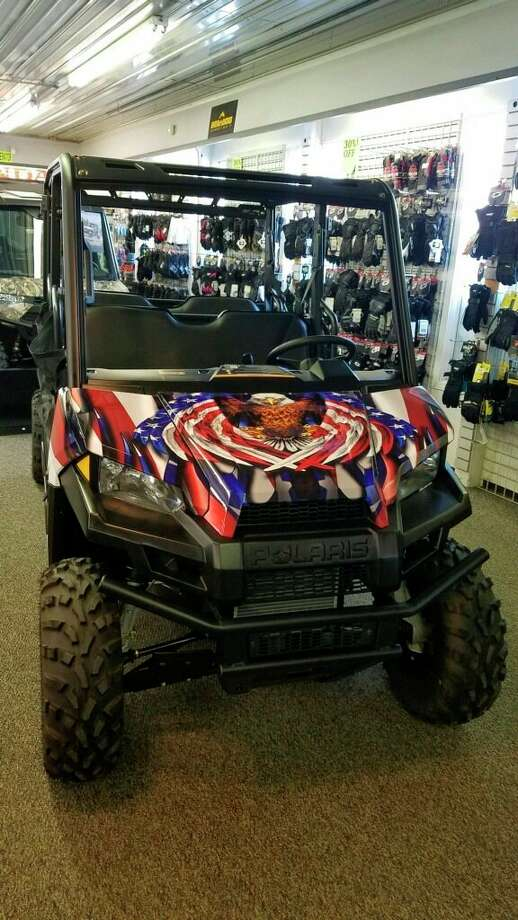 The first prize in the Tight Lines for Troops raffle is a 2020 Polaris ATV. Despite having to cancel the fishing event due to coronavirus concerns,Tight Lines for Troops willproceed the raffle, which will have a drawing date of May 16. (Courtesy photo)