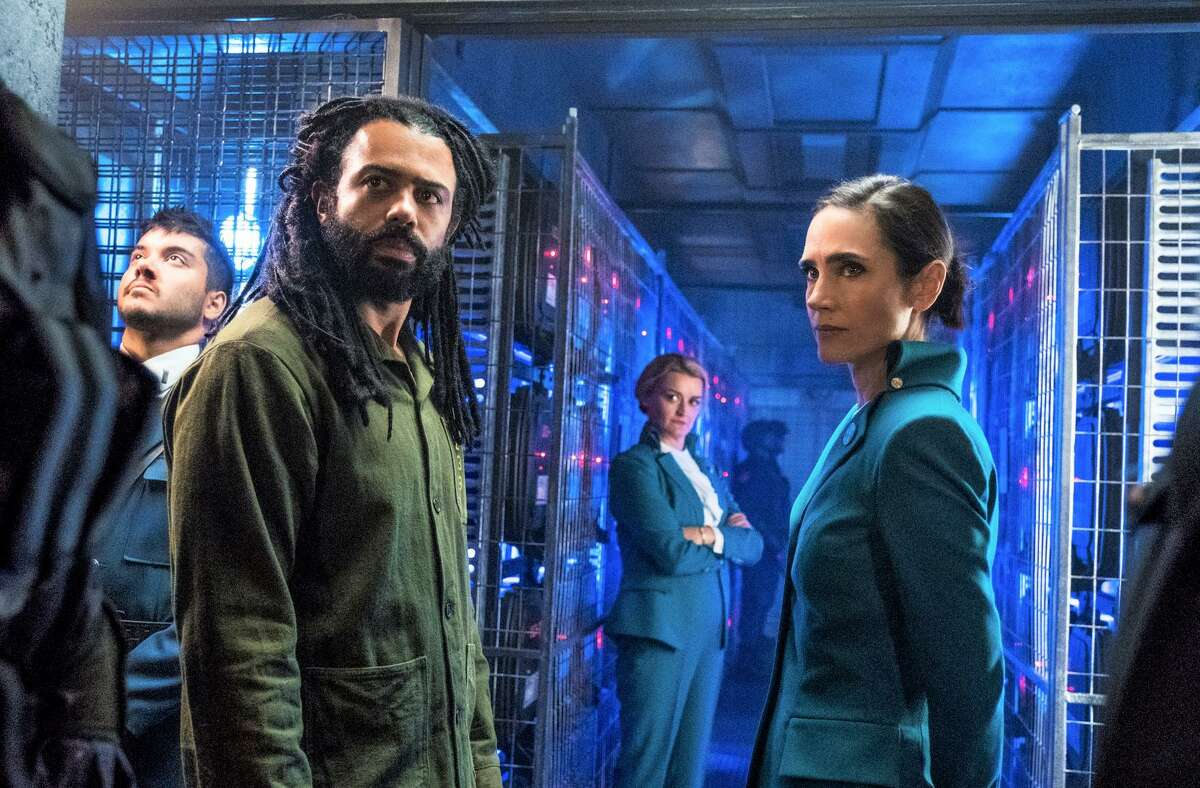 """1. """"Snowpercer"""" Jennifer Connelly, right, and Daveed Diggs star in TNT series 'Snowpercer.'"""