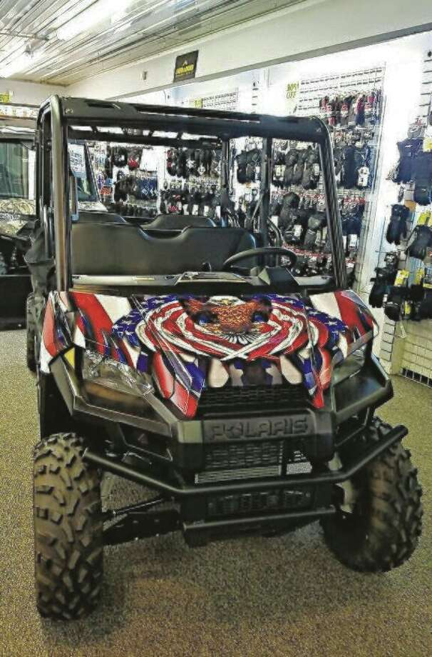 The first prize in the Tight Lines for Troops raffle is a 2020 Polaris ATV. Despite having to cancel the fishing event due to coronavirus concerns, Tight Lines for Troops will proceed the raffle, which will have a drawing date of May 16. (Courtesy photo)