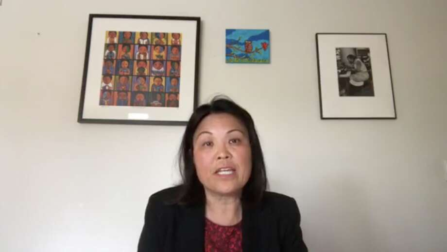 California Labor Secretary Julie Su has been holding informational sessions for unemployment benefits on Facebook Live. Photo: Facebook