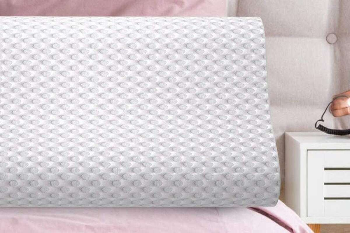 Milemont Memory Foam Pillow, $21.61Looking for a memory foam option that won't break the bank? This uses Milemont Memory Foam Pillow uses CertiPUR-US, a certified premium memory foam, at its core. That foam adjusts to the pressure that your head and neck place on it when you are asleep. The foam is designed to uniquely mold to the head and shoulders of whoever is using it.
