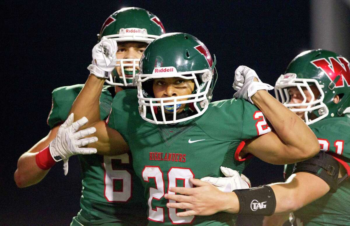 The Woodlands' Antoine Winfield Jr. finished his high school career with more than 300 tackles.