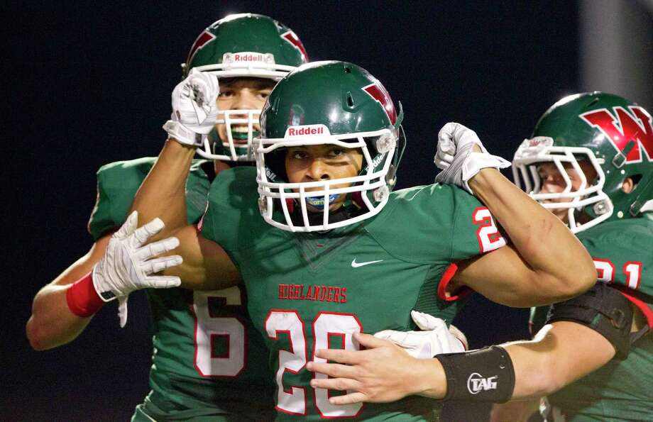 The Woodlands' Antoine Winfield Jr. finished his high school career with more than 300 tackles. Photo: Jason Fochtman / Internal