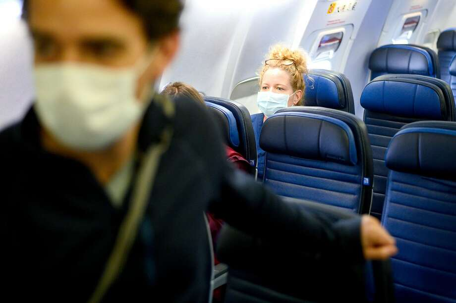 Many airlines are blocking middle seats from its inventory. Photo: Noah Berger