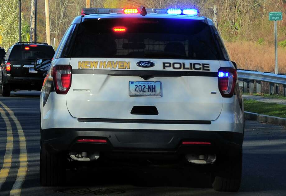 File photo of a New Haven, Conn., police cruiser. Photo: Christian Abraham / Hearst Connecticut Media / Connecticut Post