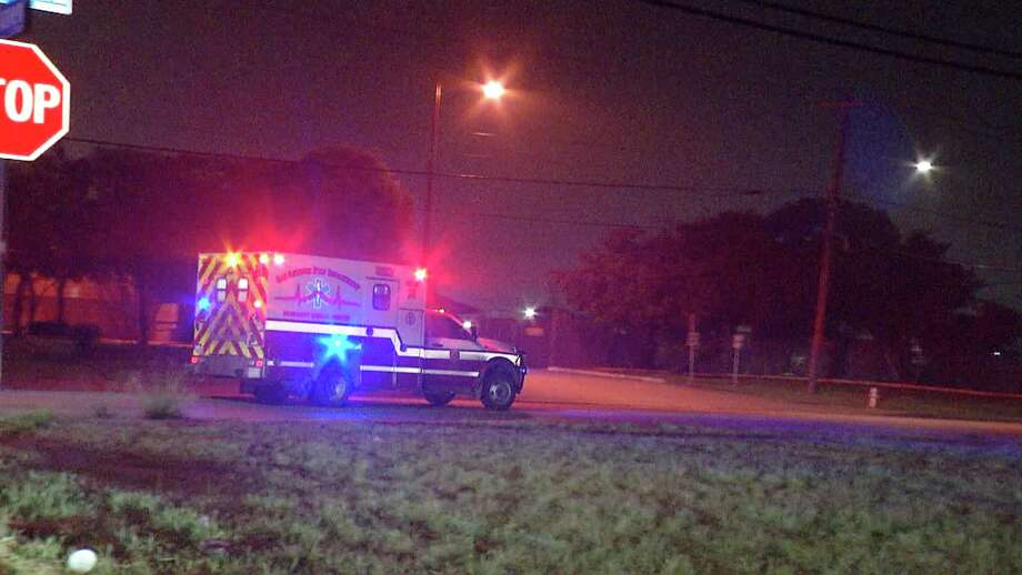 A teenager has been hospitalized in critical condition after getting shot in the head early Thursday morning near the 4900 block of E. Houston. Photo: Ken Branca