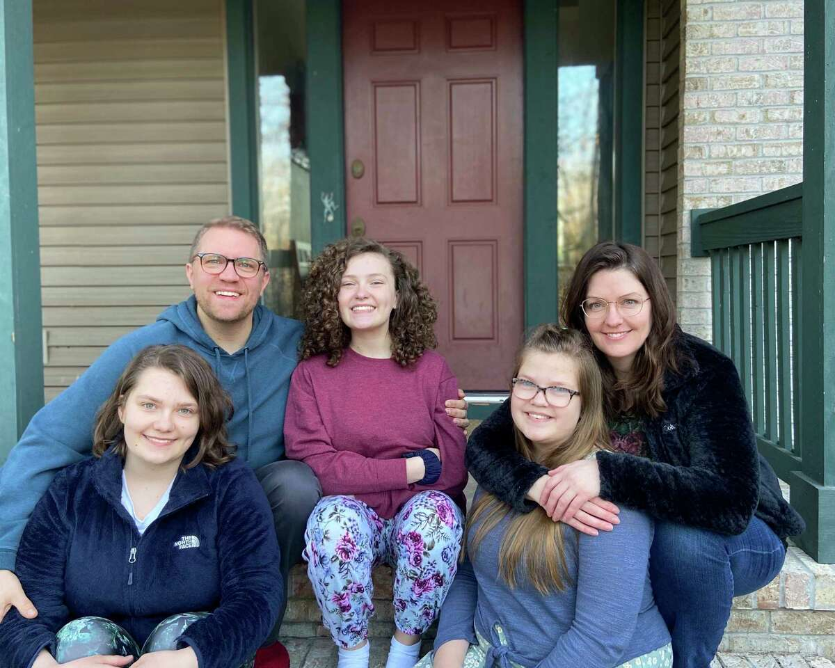 The Schramm family. (Photo provided)
