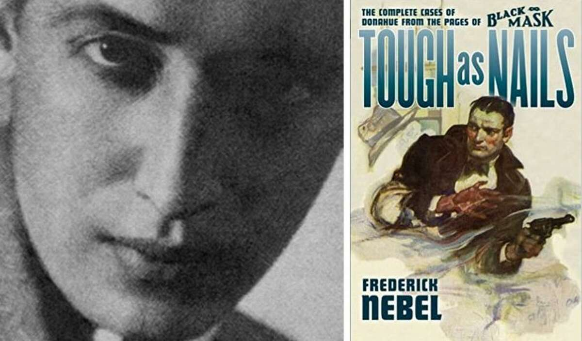 Frederick Nebel's detective stores, written for magazines, were later collected and republished as books.