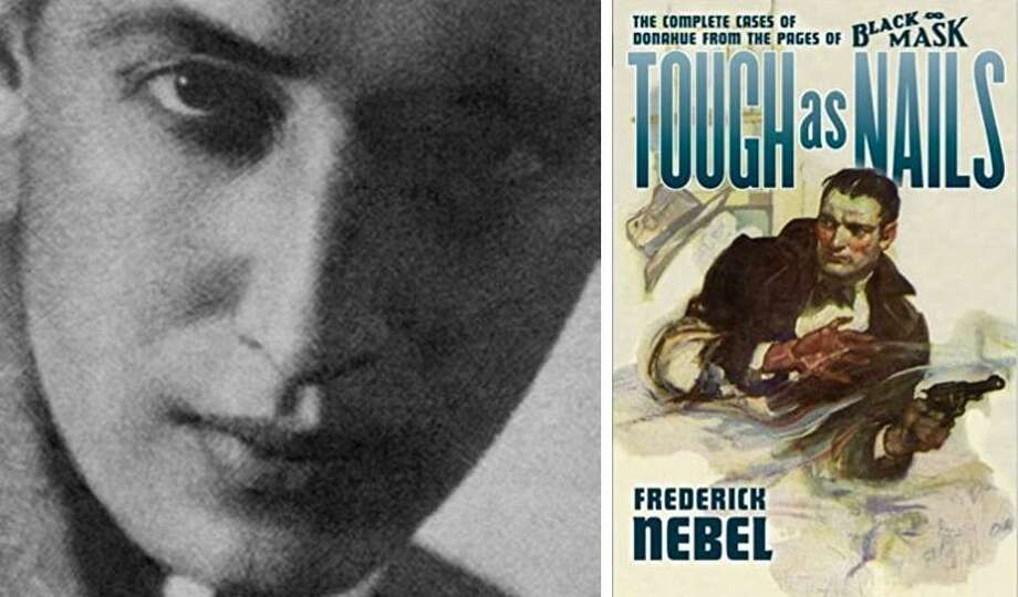 Frederick Nebel's detective stores, written for magazines, were later collected and republished as books. Photo: Contributed / Hearst Connecticut Media