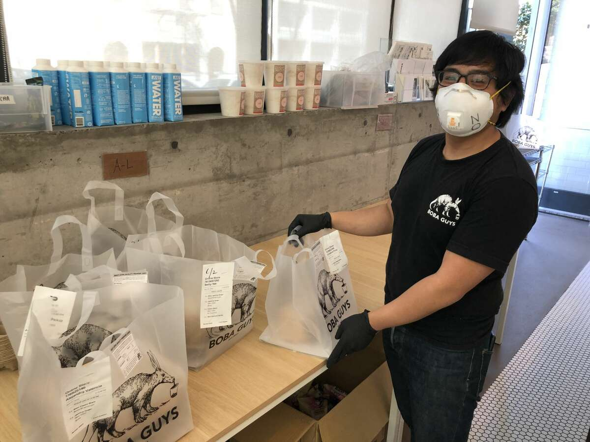 It's not unlike what San Francisco's own Philz Coffee did two weeks ago - there's contact-less pickup, a mobile pre-ordering operation, and everyone in masks and gloves. But unlike virtually all other drink operations in the Bay Area, Boba Guys is helping to contact trace any spread of the virus with cards attached to every order that tracks which facility the drink came from, who prepared it, and what their temperature was that day.
