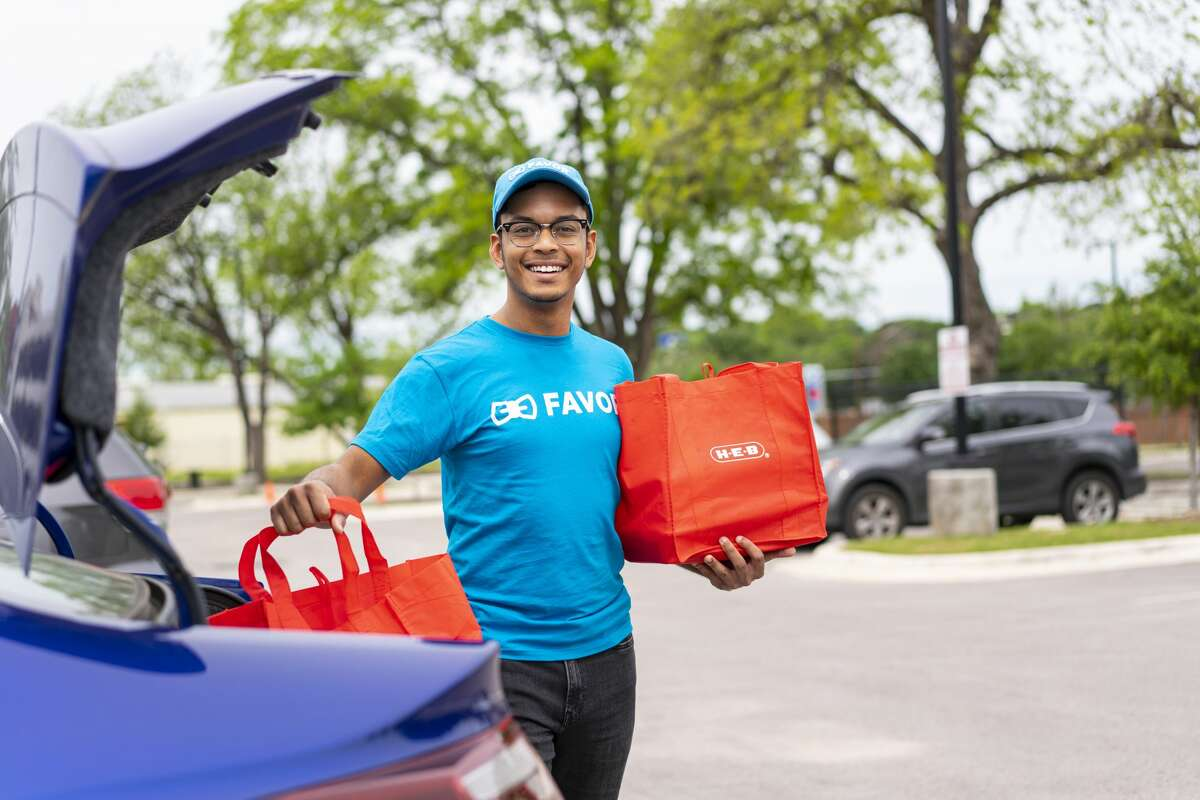 H-E-B is temporarily offering free curbside and delivery options for its customers, according to the grocery store's chain website.