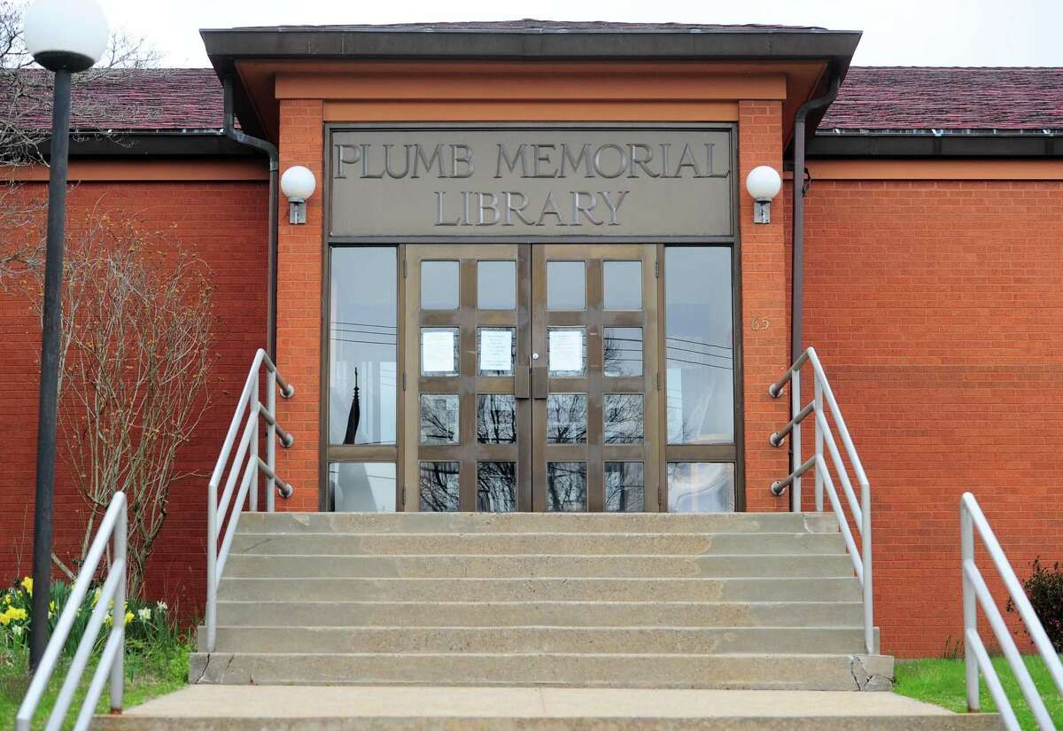 The Plumb Memorial Library in Shelton.