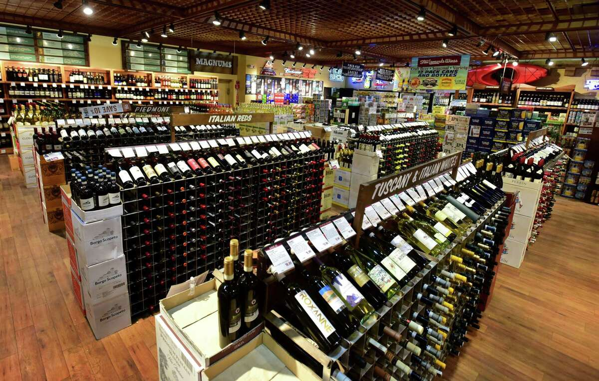 Patrons shop at the Stew Leonard's Wine Shop Thursday, April 23, 2020, in Norwalk, Conn. Stew Leonard's Wines & Spirits, Danbury, Newington and Norwalk: Best wine shop Shopping for spirits at Stew's Wines is as fun as a visit to the vineyard, with a tasting table and an array of wines by the region. You'll find varietals from family-owned vineyards around the world as well as big-name makers. The store also stocks a vast array of craft beers and spirits at bottom-of-the-barrel prices. stewswines.com