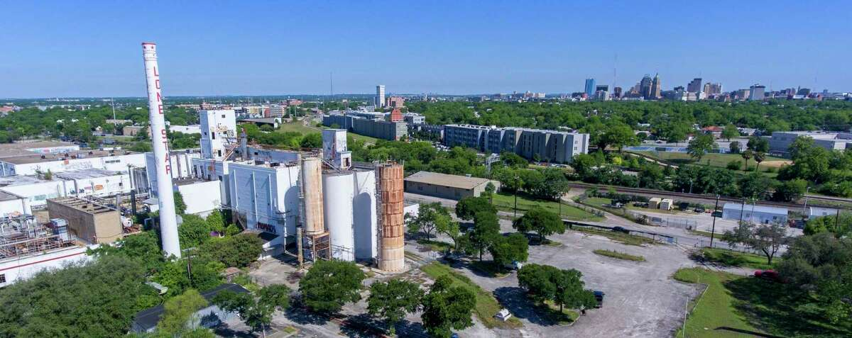 The former Lone Star Brewery complex has sat unused since 1996.