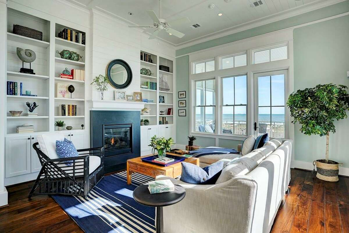 1625 Seaside Drive List price: $1.99 million /square feet: 2,246 Amenities: Situated on a no-drive stretch of beach in Galveston's East Beach area.