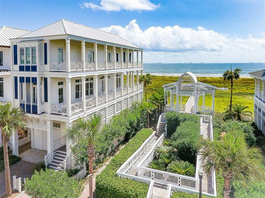 1625 Seaside Drive List price: $1.99 million /square feet: 2,246 Amenities: Situated on a no-drive stretch of beach in Galveston's East Beach area. Photo: Houston Association Of Realtors