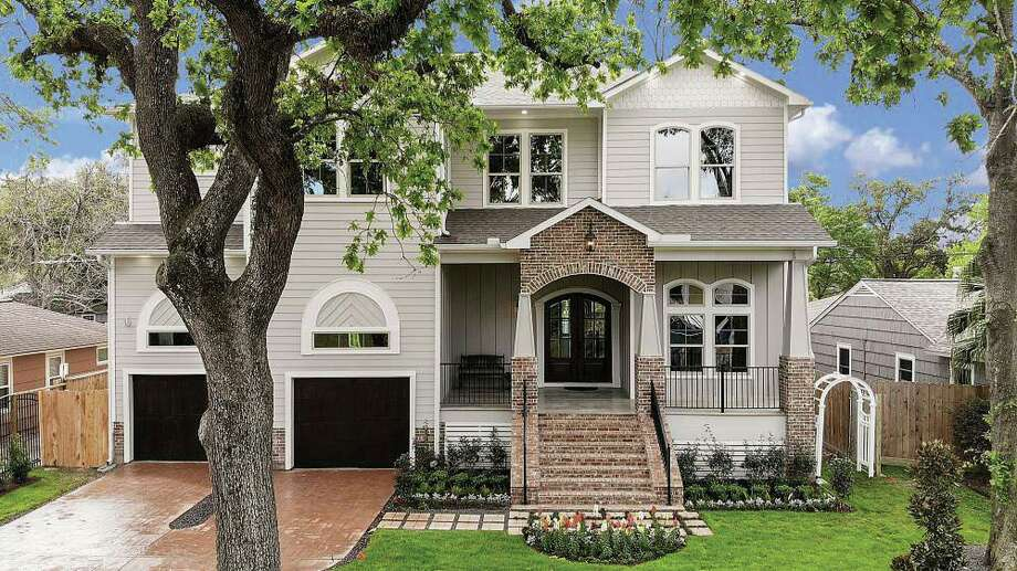 This home, located at 1024 Waltway Drive in Timbergrove, features more than 4,200 square feet of new construction by Chelsea Custom Homes.