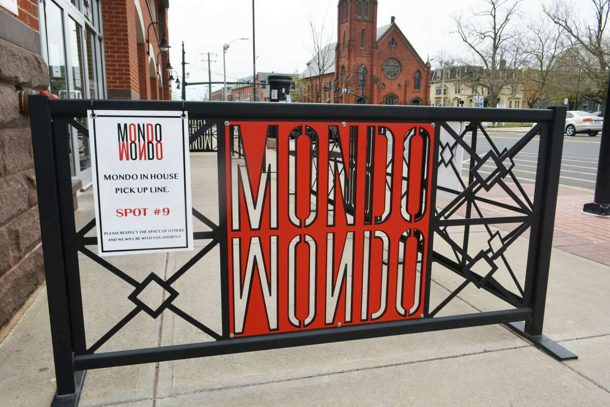 Mondo Restaurant is located at 10 Main St. in Middletown.