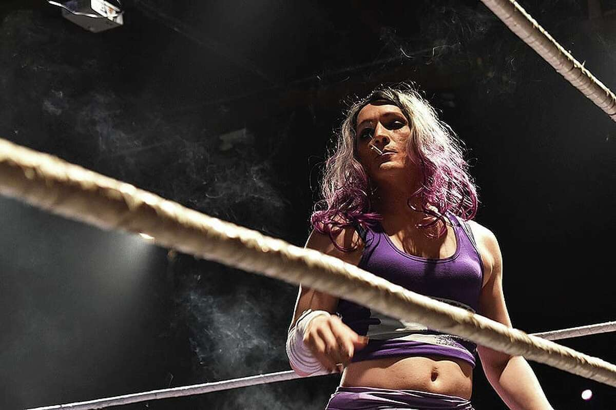 Now, she's out of work entirely, but for the time being, she's invested in keeping alive the storyline of Hoodslam's bizarre characters, ongoing rivalries and theatrical antics. She has posted a new video to YouTube and Twitch every week since the shutdown began - a