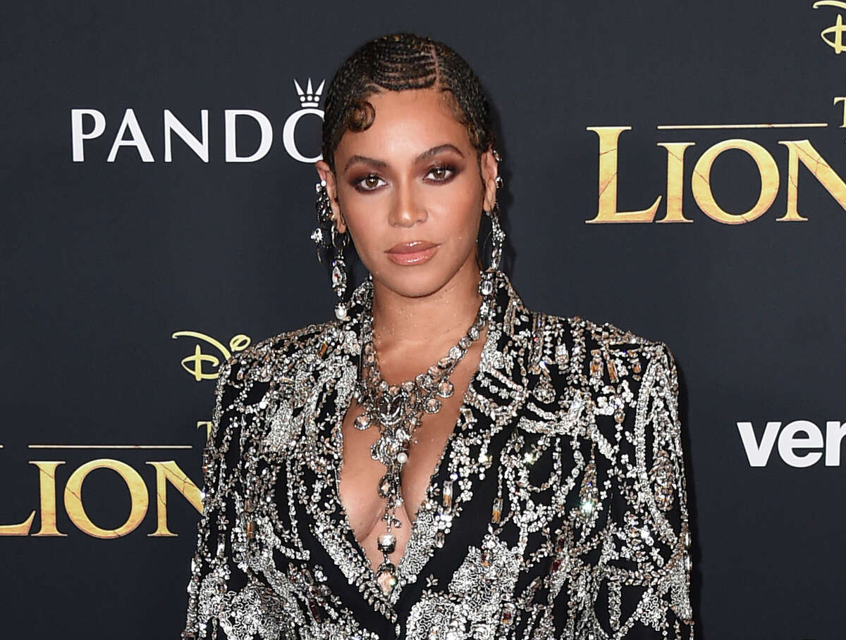 """FILE - This July 9, 2019 file photo shows Beyonce at the world premiere of """"The Lion King"""" in Los Angeles. Beyonce announced Thursday, April 23, 2020 that her BEYGood charity will partner with Twitter's Jack Dorsey's Start Small campaign to provide $6 million in relief funds. In partnership with UCLA, the funds will go organizations providing mental wellness services.A (Photo by Jordan Strauss/Invision/AP, File)"""