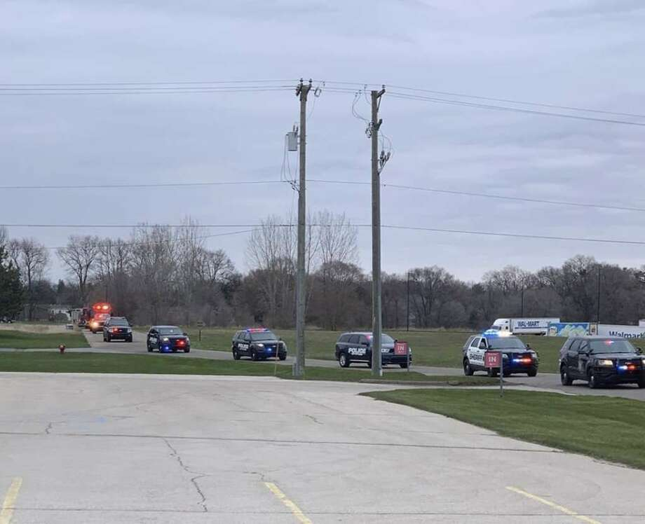 First responders in Tuscola County recognized the county's unmasked heroes. Photo: Courtesy Photo