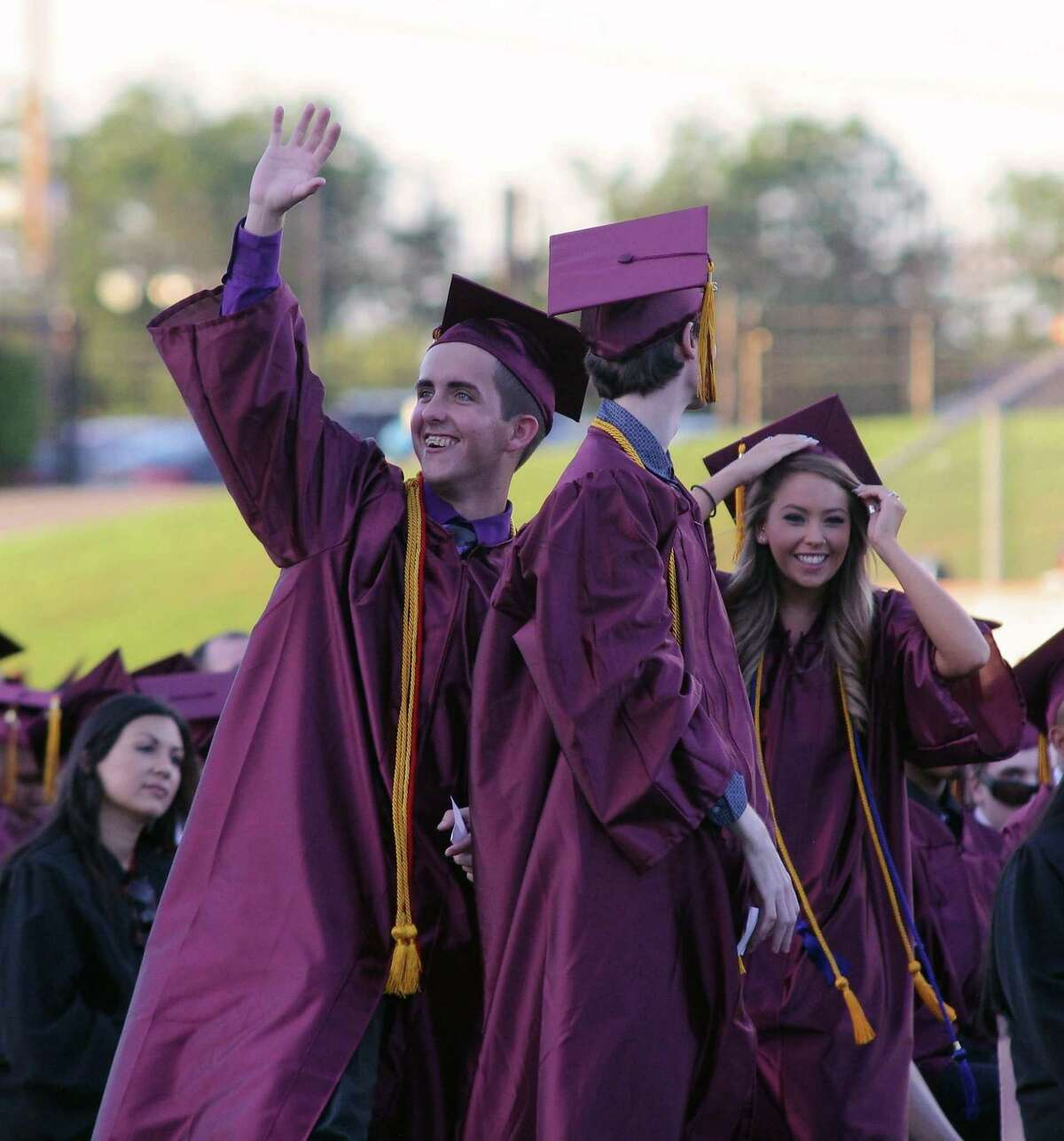 In addition to a virtual ceremony scheduled for at 7 p.m. Thursday, May 28, Deer Park High School graduates hope they can have an in-person event in July.