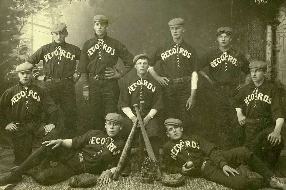 One of Manistee's earliest baseball teams was the Records who played in the very early 1900s.