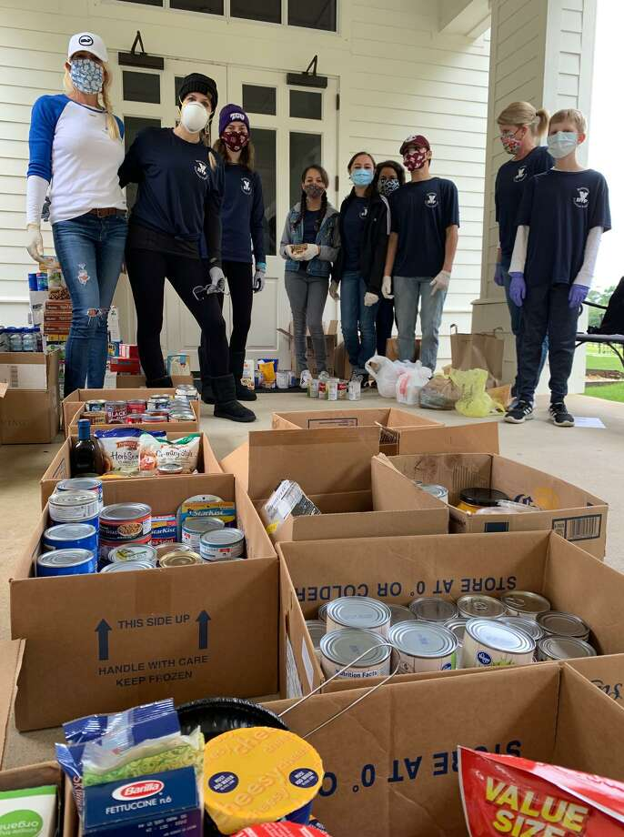 Meals on Wheels Montgomery County (MOWMC) wanted to share GOOD NEWSfrom the community. In times of need citizens of Montgomery County pull together as we have seen during Harvey and now COVID-19. The Bentwater community in Montgomery is one example. Bentwater Volunteer Families (BVF) is a service organization of students and their families dedicated to giving back to the community and have supported MOWMC for many years. Photo: Courtesy Photo