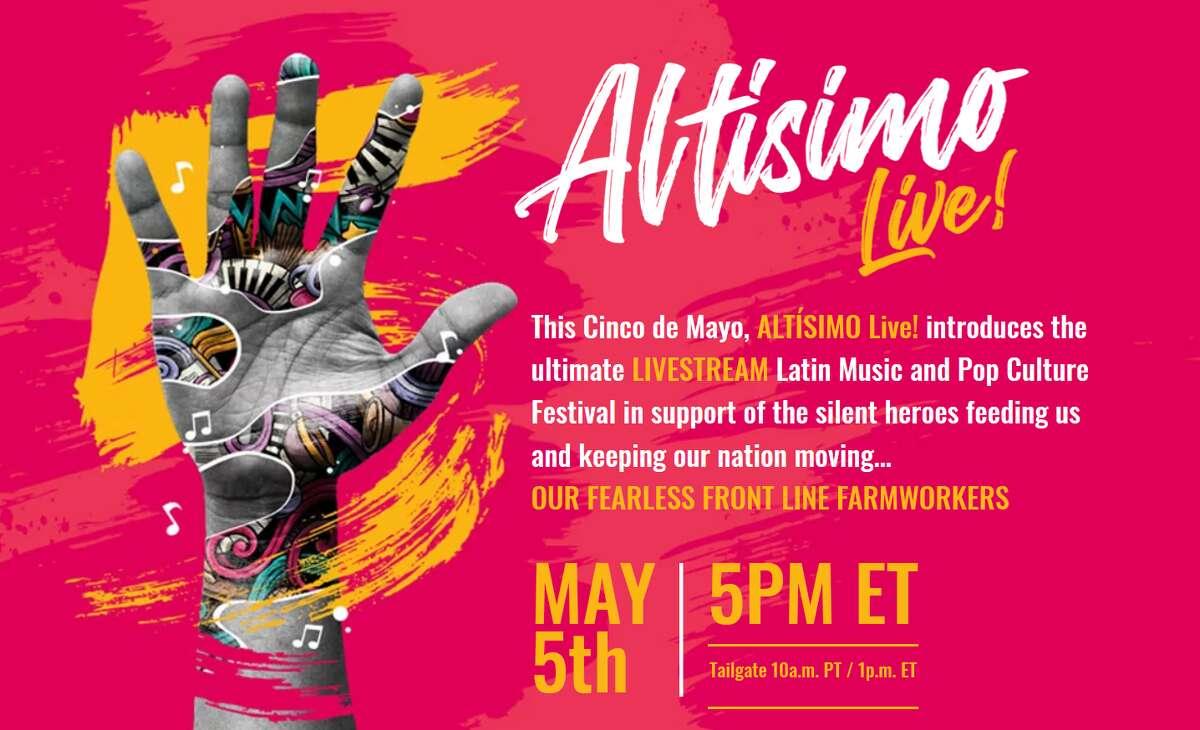 Altísimo Live!. This Cinco de Mayo you can still celebrate as Eva Longoria is set to host a star-studded event titled Altísimo Live!