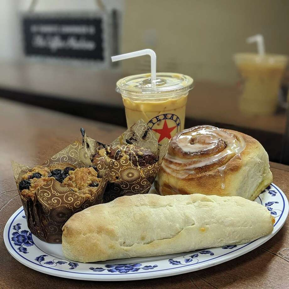"""Coffee Me Crazy opened two days after the """"Stay Home, Work Safe"""" order was issued inSan Antonio. The new coffee and bakery shop is open forcurbsideand delivery at its location at 7715TezelRoad. Photo: Coffee Me Crazy"""