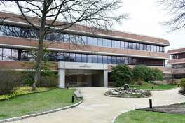 The One Pickwick Plaza office building that houses the headquarters of Interactive Brokers Group in Greenwich, Conn.