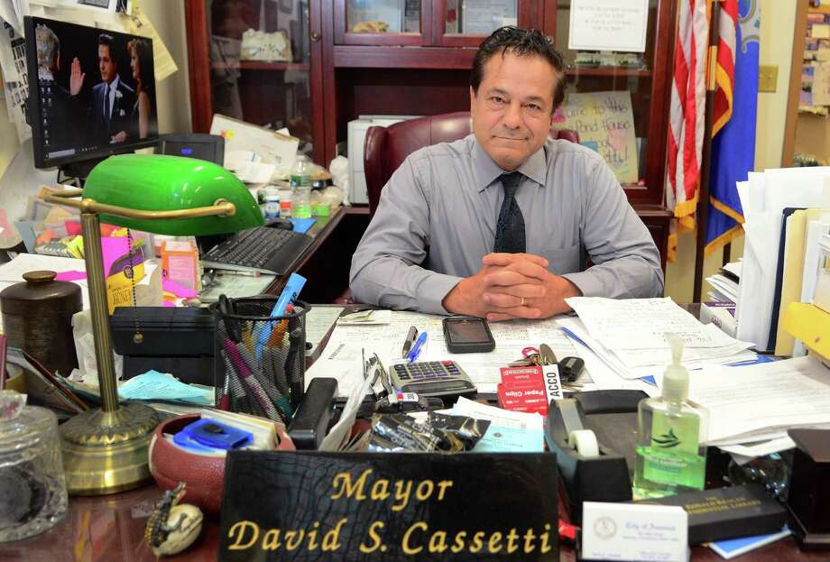 Ansonia Mayor David Cassetti Photo: Christian Abraham / Hearst Connecticut Media File / Connecticut Post