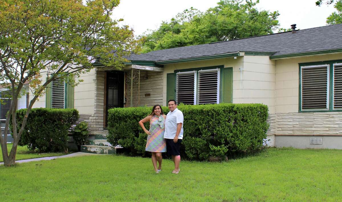 Rachel Briseño Bruno and her husband, Jaime, live in a Highland Park house built in 1946.