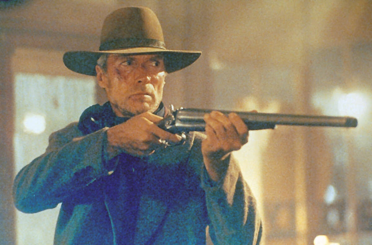 Clint Eastwood stars in Unforgiven.