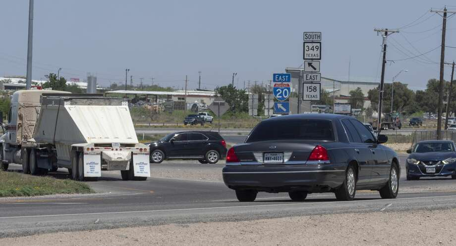 Traffic improvements are proposed along I-20 include new entrance and exit ramps. 04/24/2020 Tim Fischer/Reporter-Telegram Photo: Tim Fischer/Midland Reporter-Telegram