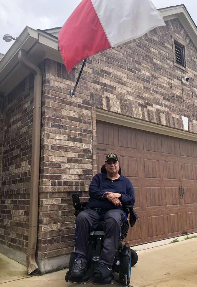 Gilbert Garcia has little trouble remembering the April 24, 1990 shooting that left him confined to a wheelchair for the rest of his life. Photo: Courtesy Photo/Monica Nunez