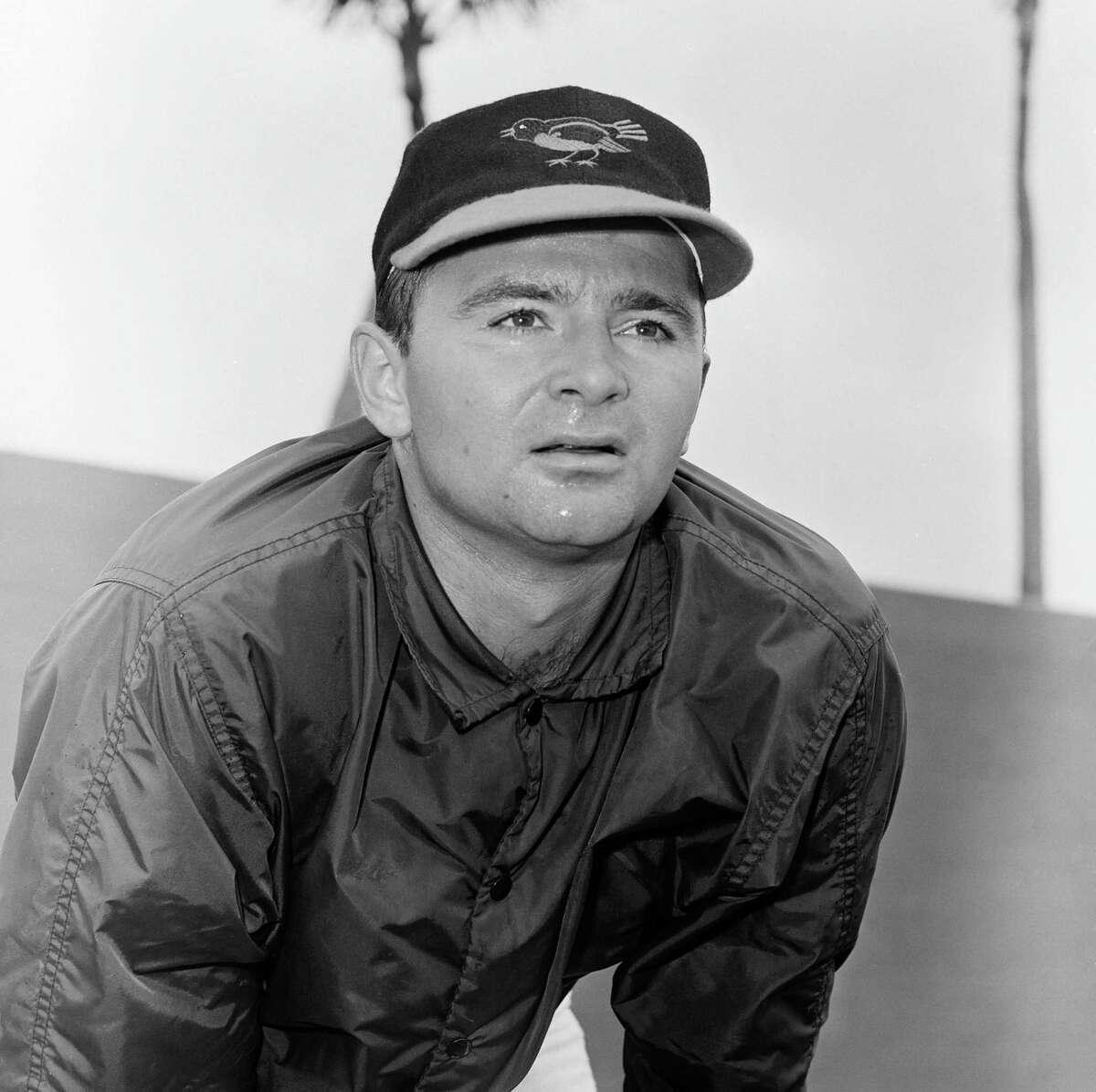 Pitcher Steve Dalkowski in 1963.