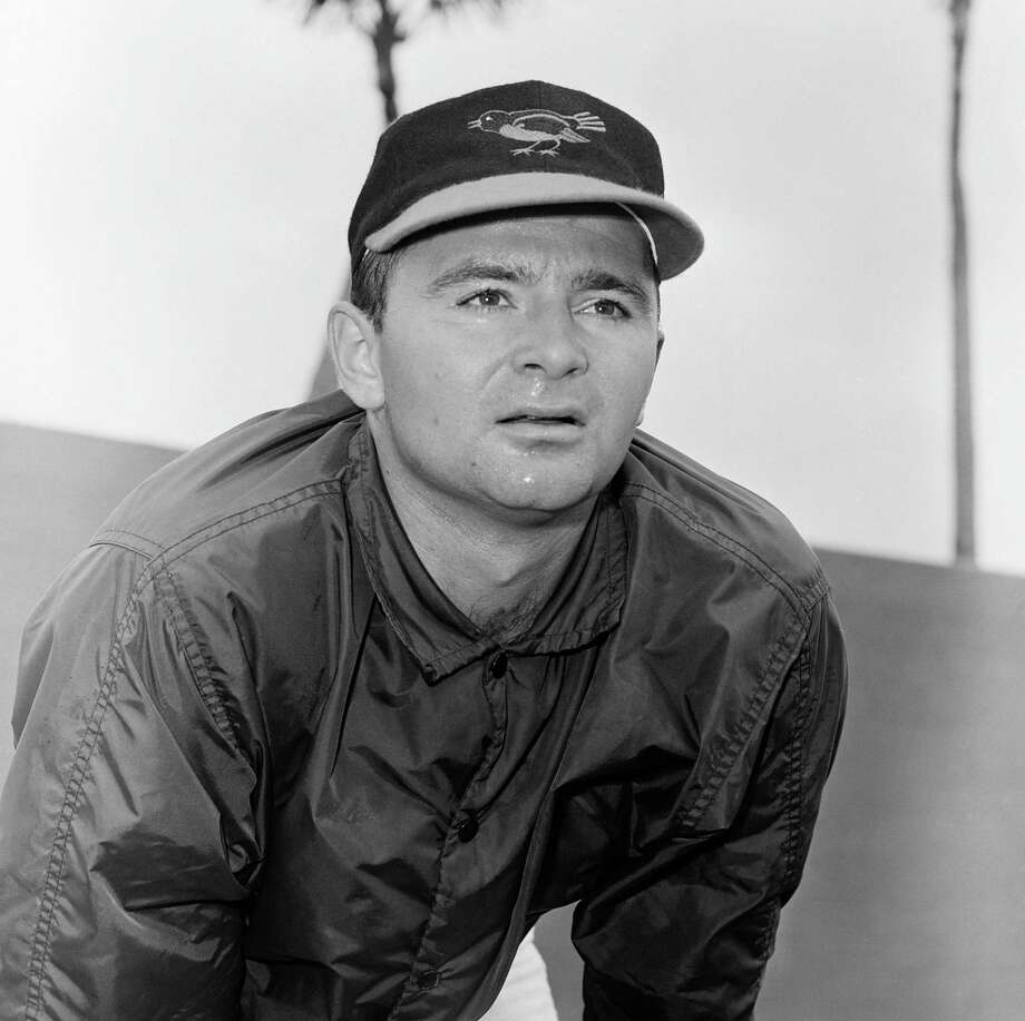 Pitcher Steve Dalkowski in 1963. Photo: Associated Press / AP1963