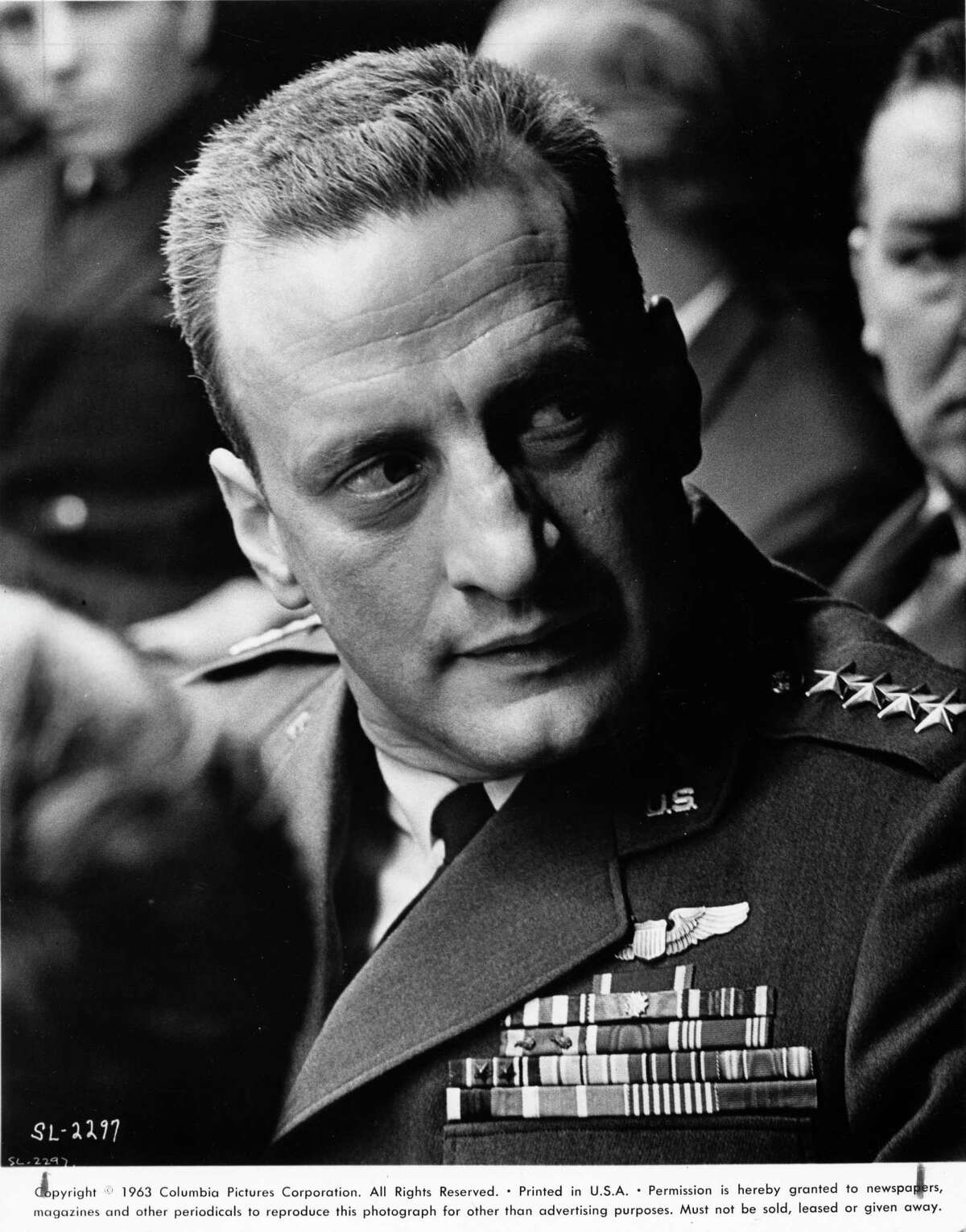 DR. STRANGELOVE OR: HOW I LEARNED TO STOP WORRYING AND LOVE THE BOMB (1963) - George C. Scott as General Buck Turgidson in