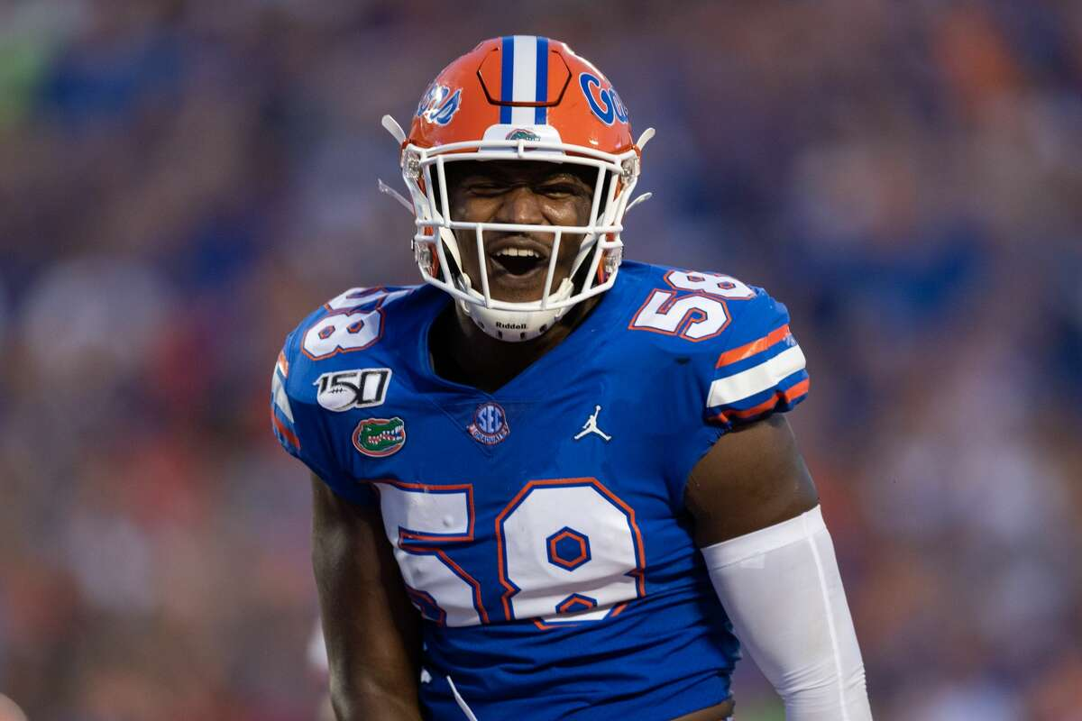 The Texans picked Florida linebacker Jonathan Greenard in the third round to help boost their pass rush.