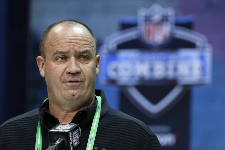 FIL - In this Feb. 25, 2020, file photo, Houston Texans head coach Bill O'Brien speaks during a press conference at the NFL football scouting combine in Indianapolis. The Houston Texans don't have a first-round pick in this year's draft after trading it to Miami last year as part of the deal for Laremy Tunsil and Kenny Stills. (AP Photo/Charlie Neibergall, File) Photo: Charlie Neibergall/Associated Press / Copyright 2020 The Associated Press. All rights reserved