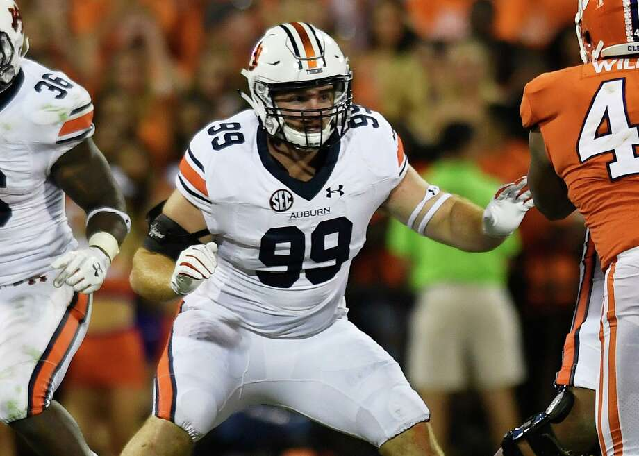 Magnolia graduate Spencer Nigh signed with the Pittsburgh Steelers. Photo: Auburn Athletics / Todd Van Emst/AU Athletics / Todd Van Emst/AU Athletics