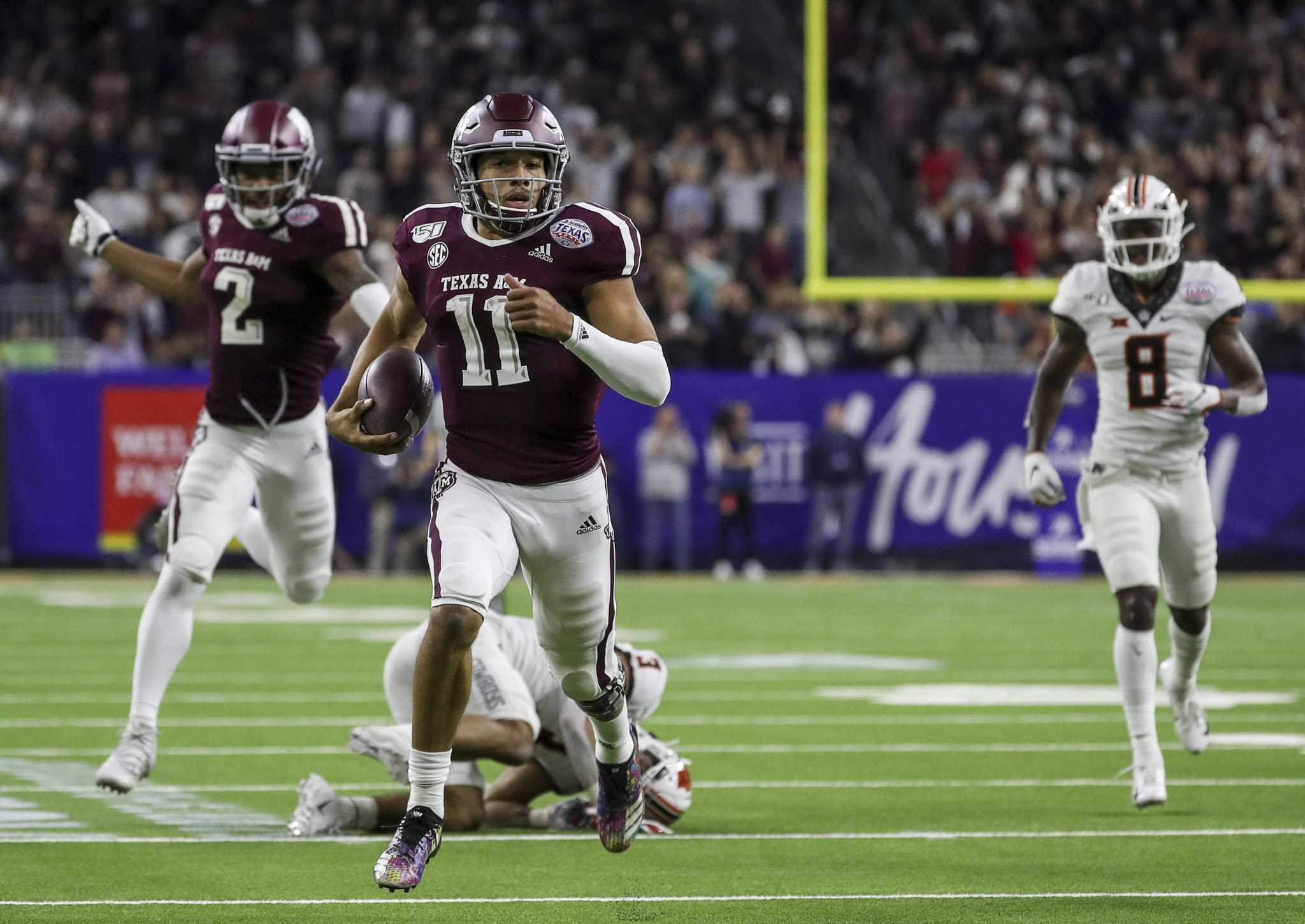 Texas A&M QB Kellen Mond remains confident
