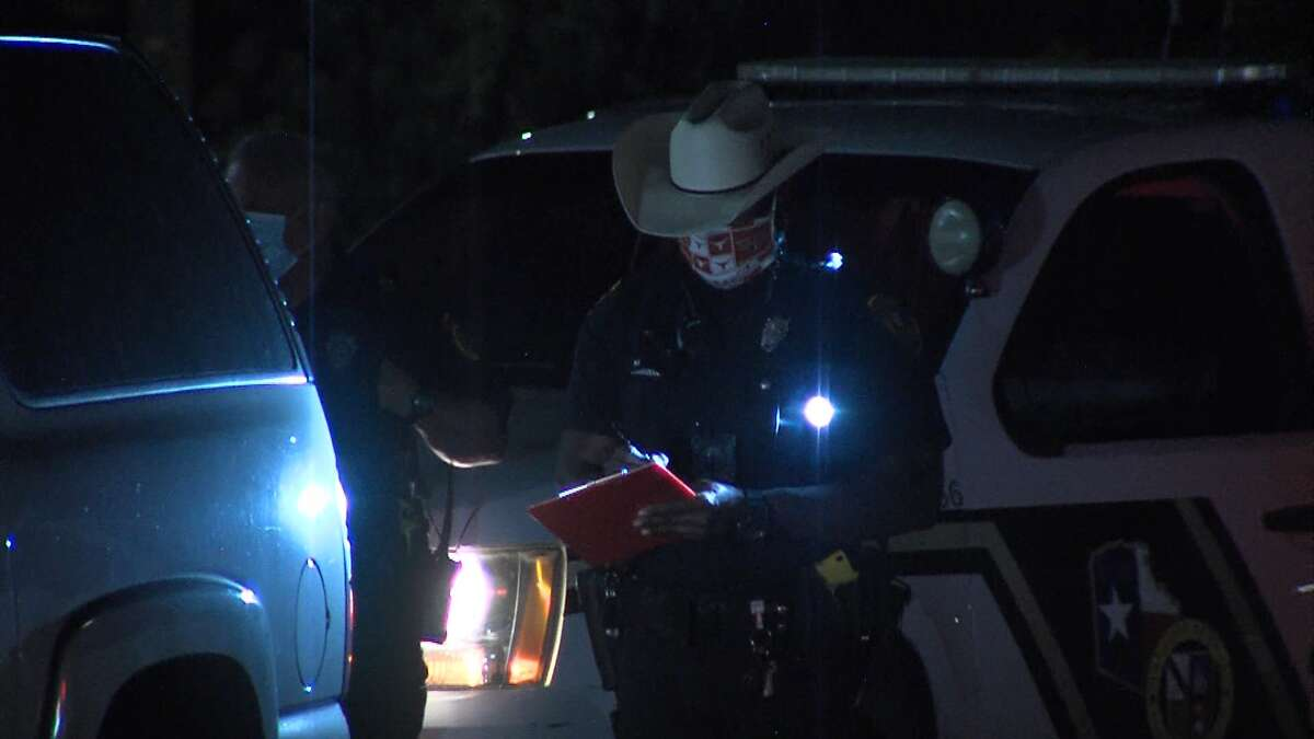 A person is facing multiple charges after leading Bexar County Sheriff's Office deputies on a high-speed chase through the far Northwest Side Saturday night April 26, 2020.